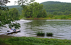 The Susquehanna River at Pine Crest Campground